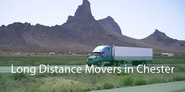 Long Distance Movers in Chester